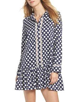 Ruffle Hem Sleep Shirt