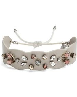 Jeweled Guitar Strap Bracelet