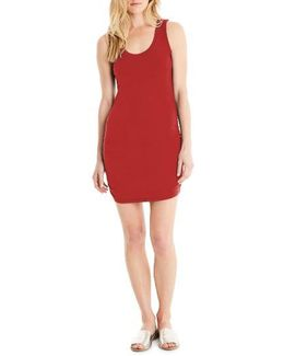Ruched Side Tank Dress
