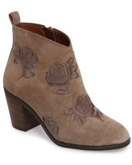 Pexton Embroidered Bootie