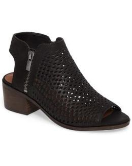 Nelwyna Perforated Bootie Sandal