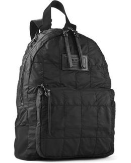John Varvatos Quilted Nylon Backpack