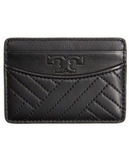 Alexa Slim Leather Card Case