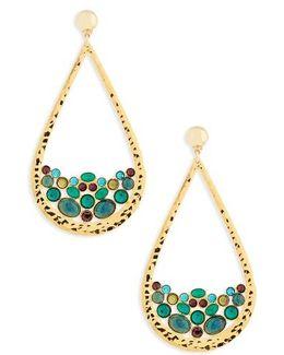 Byzance Crystal Drop Earrings
