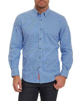 Wade Tailored Fit Check Sport Shirt