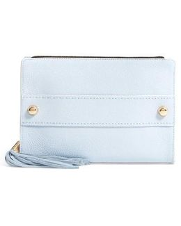 Astor Leather Clutch