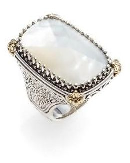 Selene Mother Of Pearl Ring