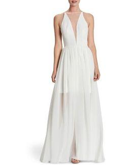Patricia Illusion Gown