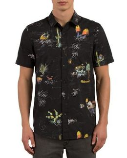 No Vacancy Print Shirt