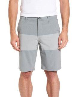 Stone Modern Hybrid Shorts