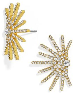 Venus Crystal Stud Earrings