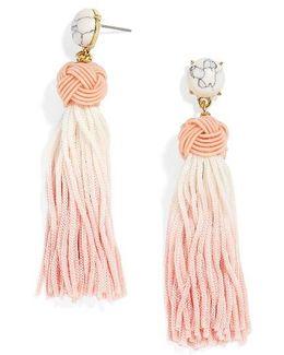 Sarina Ombre Tassel Earrings
