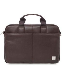Brompton Stanford Leather Briefcase