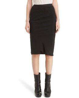 Knit Waist Skirt