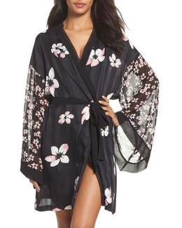 Sleepwear Satin Wrap