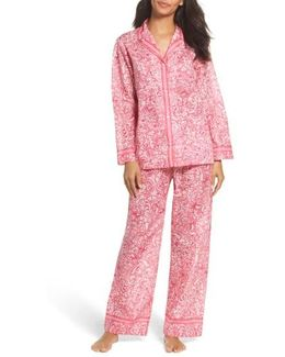 Paisley Cotton Pajamas