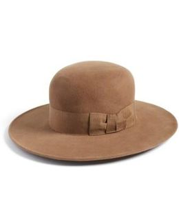 Velour Padre Fur Felt Wide Brim Hat