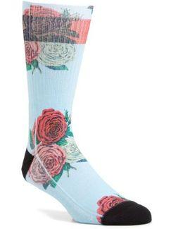 Libertine Rose Crew Socks
