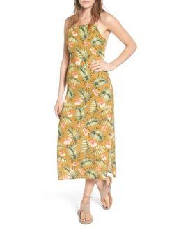 Palm Print Slipdress