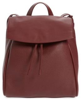 Ebba Leather Backpack