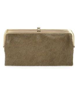 Lauren Colorblock Genuine Calf Hair & Calfskin Leather Wallet