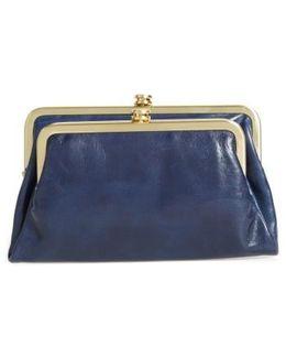 Suzette Calfskin Leather Wallet