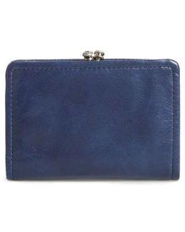 Delta Calfskin Leather Wallet