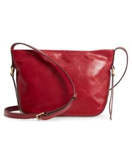 Muse Calfskin Leather Crossbody Bag