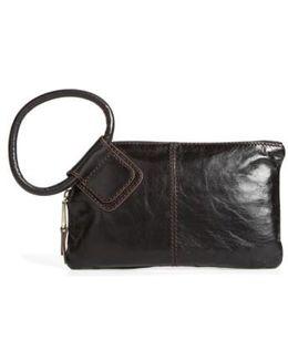 Sable Calfskin Leather Clutch