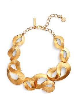 Twisted Ribbon Collar Necklace