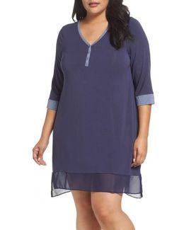 Henley Sleep Shirt