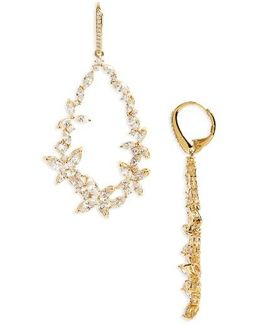 Papillon Drama Drop Earrings