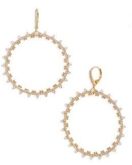 Cardamom Frontal Hoop Earrings
