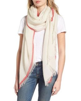 Selvedge Edge Merino Wool Scarf