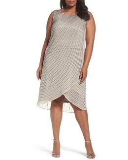 Beaded High/low Dress