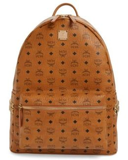Large Stark Studded Side Backpack