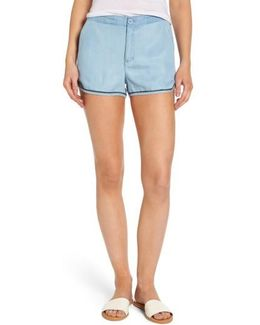 Golden Days Chambray Shorts