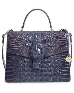Andesite Lucca Priscilla Leather Satchel