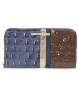 Andesite Orba - Suri Zip Around Leather Wallet