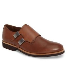 Finnegan Double Monk Strap Shoe