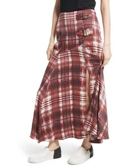 Season Of The Wind Midi Skirt