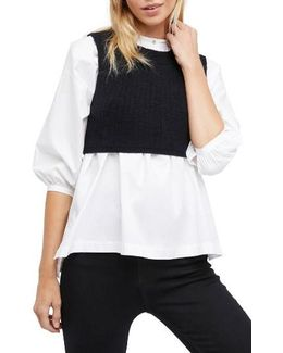 Valley Side Crop Vest