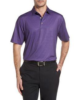 Sean Mata Sunburst Stretch Jersey Polo