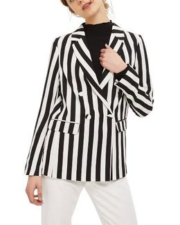 Ella Stripe Suit Jacket