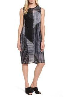 Waterfall Shift Dress