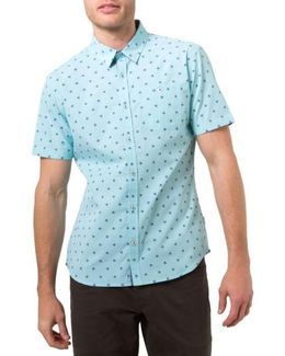Palms Print Woven Shirt