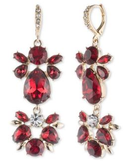 Drama Crystal Drop Earrings