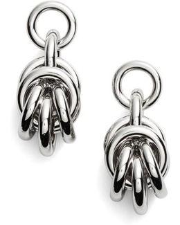 Knot Drop Earrings