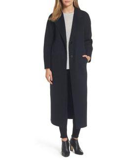 Boiled Wool Coat