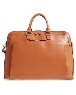 Brera Leather Briefcase